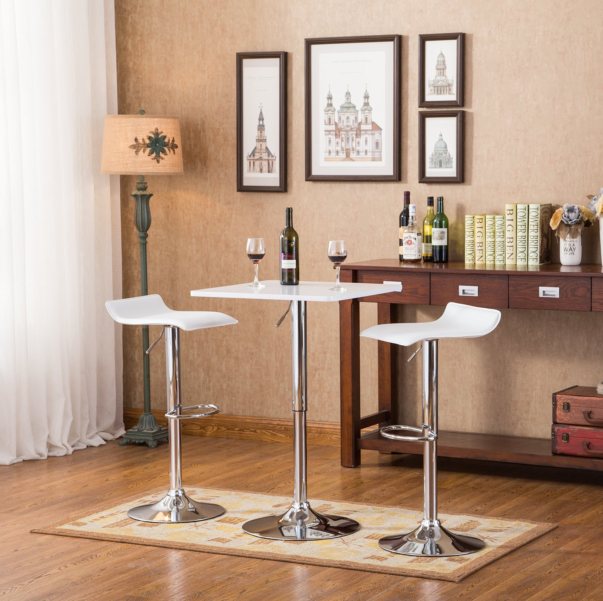 Cool Buy Roundhill Solid Wood Swivel Bar Stools With Back 24 Theyellowbook Wood Chair Design Ideas Theyellowbookinfo