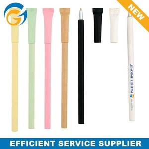 Hot Selling Eco Friendly Pen Free Paper Ballpen Sample in School