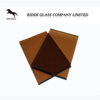 2mm 3mm 4mm 5mm 6mm 7mm 8mm High Quality Golden Bronze Clear Float Glass