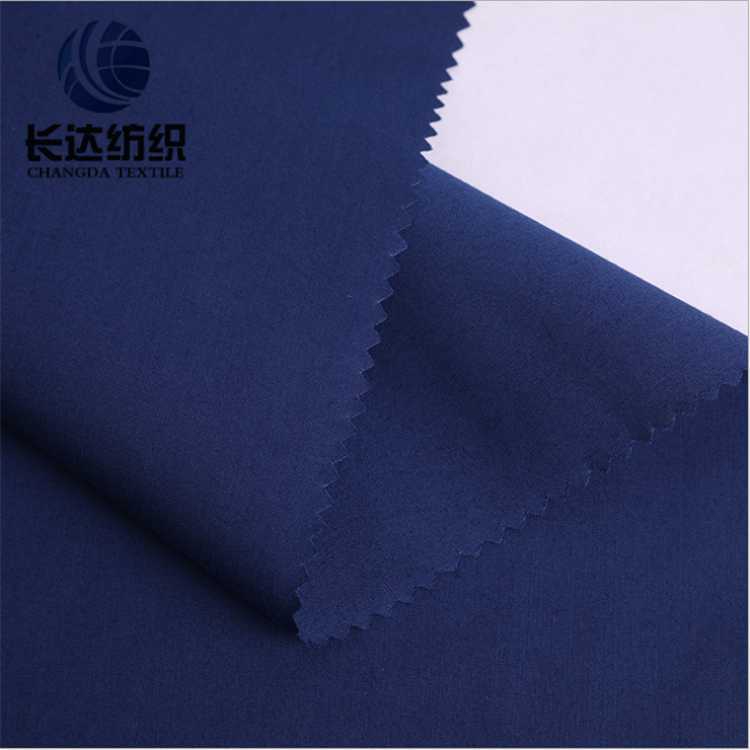 Poly Cotton blue Textile Tc Pocket Poplin Fabric 80/20 45x45