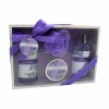 Lavender and Jasmine Home Spa Set with Body Lotions Bubble Bath and More