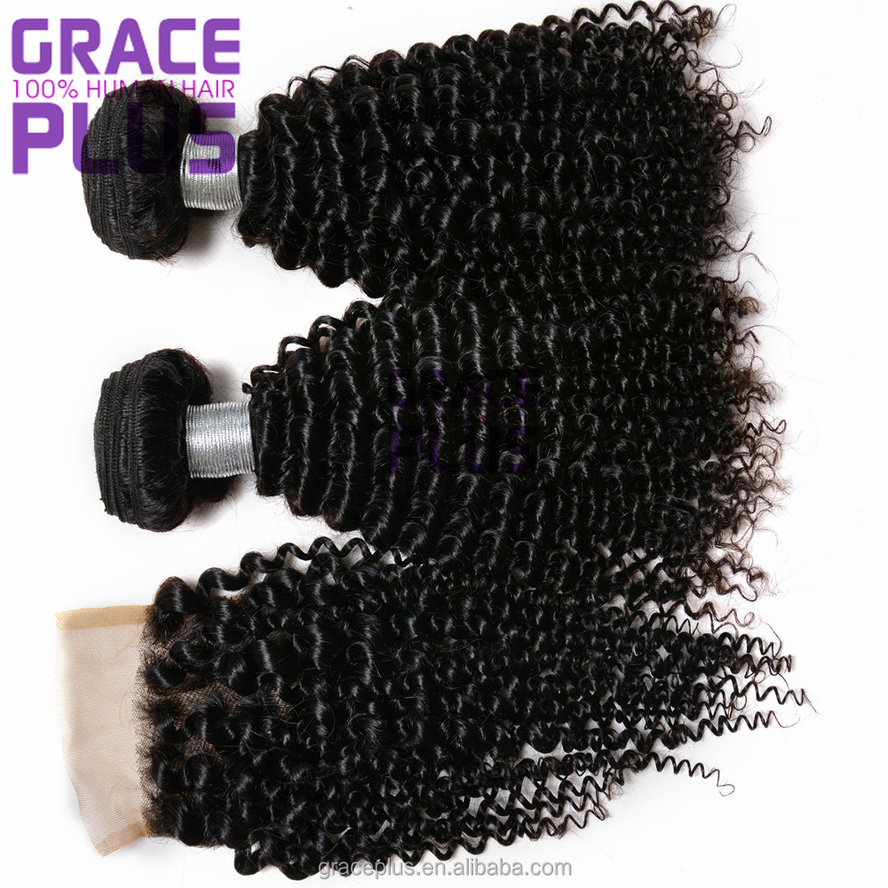 cheap brazilian malaysian curly hair bundles peruvian kinky curly virgin hair with closure