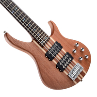 Oringinal 5 Strings connected body bass made in China electric bass guitar
