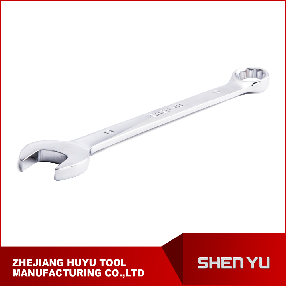 chrome vanadium combination wrench spanner ,free sample tools
