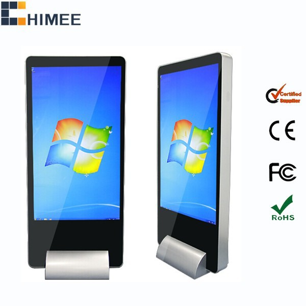 55inch floor standing internet kiosk computer all in one i7 pc tv