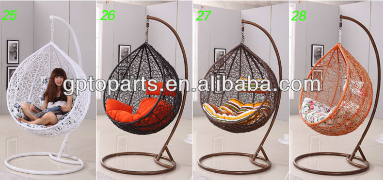 Balcony Swing Chair Outdoor Egg Whole Rattanr