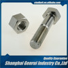 Stainless steel M39 1-3/4 grade 6.8 clamp railway fish plate decorative bolt and nut
