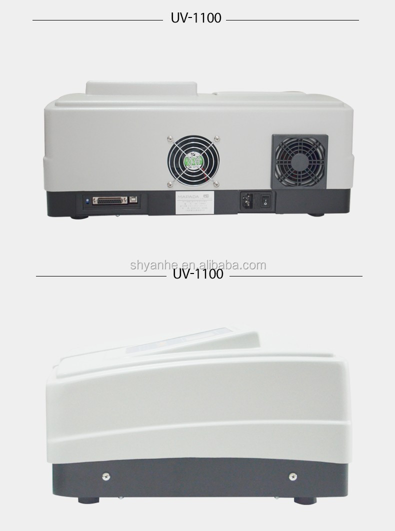 UV-1100 uv vis visible spectrophotometer price cheap 200-1000nm