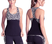 2015 Hot sell outwork custom ladies fitness spandex gym wear for yoga top