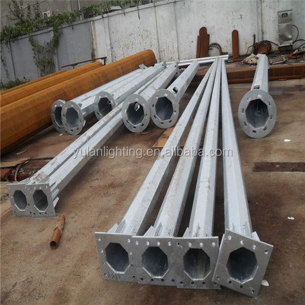 High quality cheapest price aluminum utility poles