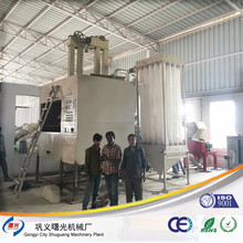 2016 Innovation design of Medical tablet blister recycling machine/medical blister waste recycling plant