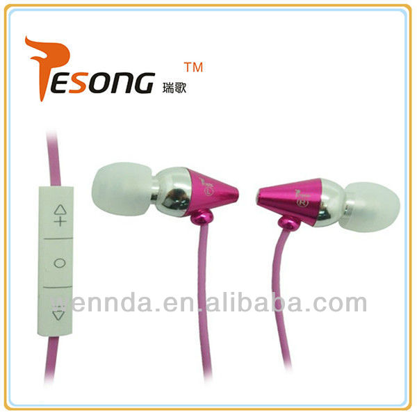3.5mm plug stereo earphone for Nokia