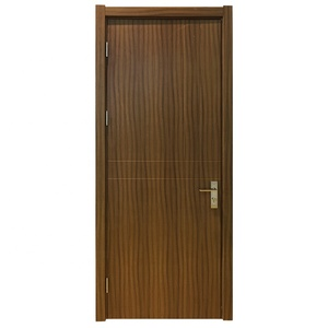 Latest Simple Flush Panel Design Malaysia Interior Waterproof Plywood Door  Price