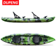 Rotomolded Polyethylene 3 Person Sit On Top Type Angler Tandem Fishing Kayak
