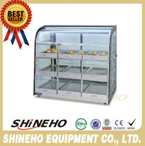 W442 refrigerated pastry showcase/Display Cabinets/Countertop Bakery display case