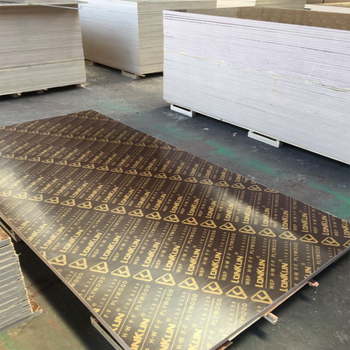 China wood product black/red/brown film faced plywood used for construction for Mid-east Asia market