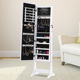Mirrored Bedroom Cabinets Modern Jewelry Armoire Standing Mirror