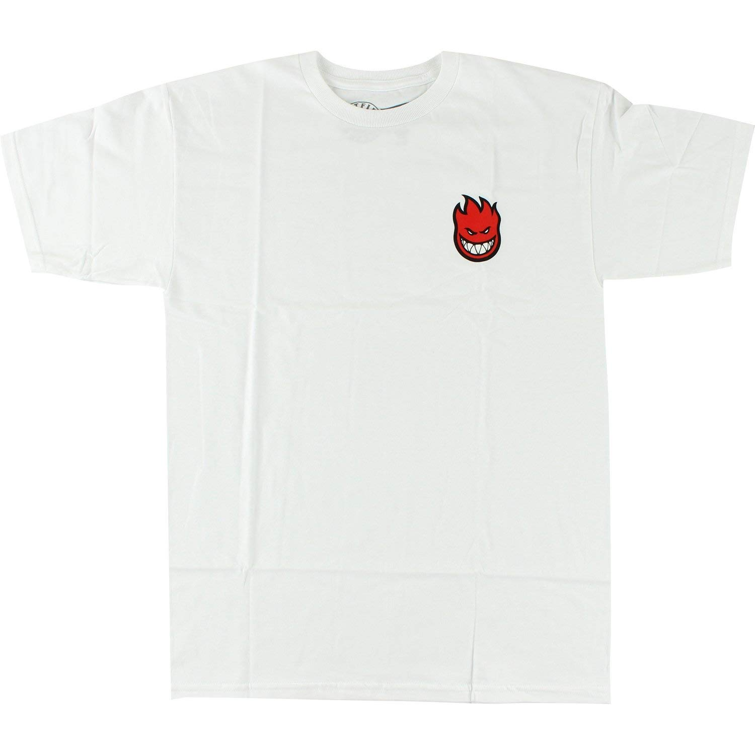 Spitfire Lil Bighead Fill T-Shirt - Size: SMALL White/Red