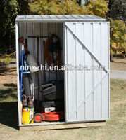 new design and easy assembly outdoor storage metal shed GARDEN STORAGE SHED