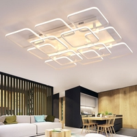 Modern Ceiling Light LED Dimming Acrylic Ceiling Lamp For Living room Bedroom Coffee Shop Art Decor Lighting Fixture MD81928A