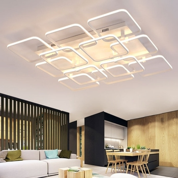 Modern Ceiling Light Led Dimming Acrylic Lamp For Living Room Bedroom Coffee Art Decor Lighting Fixture Md81928a