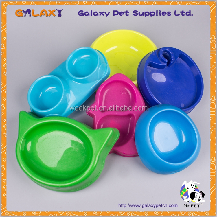 wholesale dog pet products plastic dog pet bowls stainless steel pet bowl dog bowl