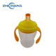 Personalized Kids Plastic Cups Water Bottles With Handle And Straws For Baby