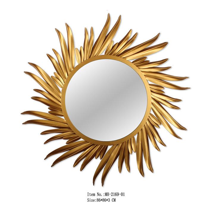 Demir Boyama Altin Gunes Patlamasi Ayna Buy Gunes Sekilli Ayna