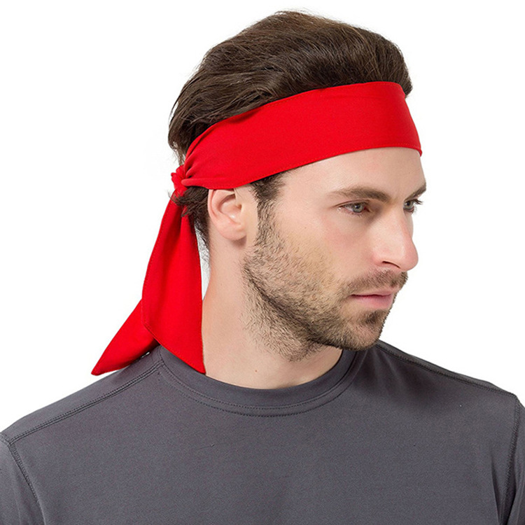 Wholesale dri fit knitted nylon tennis workout running gym sweatband <strong>headband</strong>