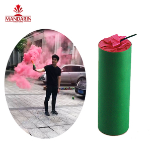 China firework cheap price daytime red hand hold flare smoke fireworks