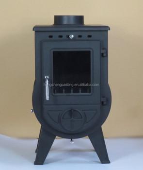 Cast Iron Glass Door Wood Burning Stove /Parts/ Heating Area 90 300sqm