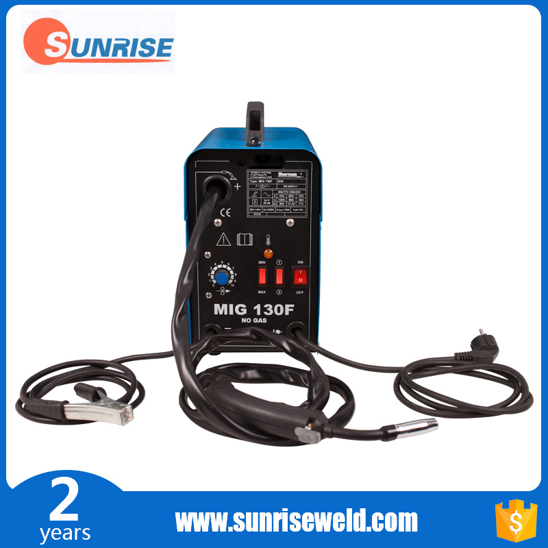 Free sample gasless mig welder from Chinese supplier