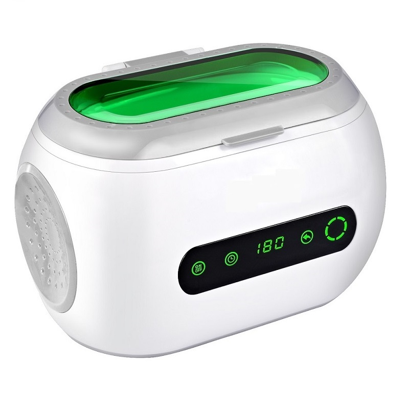 Touch Control Dental/ Watches /Glasses /Jewelry Portable Mini Ultrasonic Cleaner 600ml