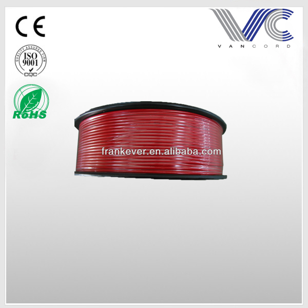 FrankEver Car Power Cable transparent red Flexible 4WG CCA audio power wire.jpg