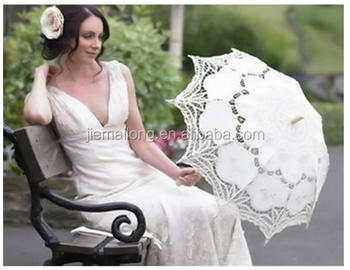 Chinese Wholesale Wooden Cotton White Lace Parasol Lace Wedding Umbrella Buy Chinese White Cotton Lace Umbrellas Parasols Wedding Chinese Cute Mini