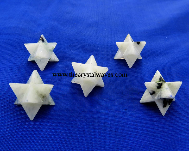 Rainbow Moonstone Merkaba / Star