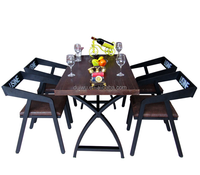 Environmental Solid Pine Kitchen Table dining room furniture