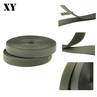 High quality high grade military green sew hook&loop tape