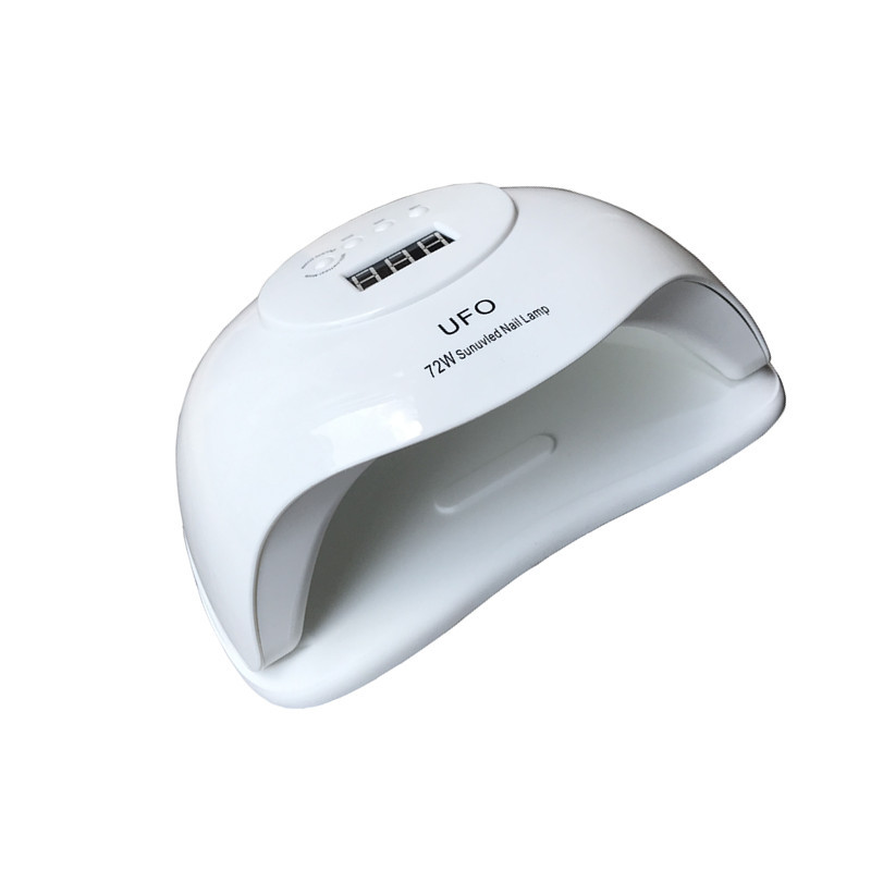 72w Super High Power Fast Dry Nail UV Lamp Intelligent Nail Dryer