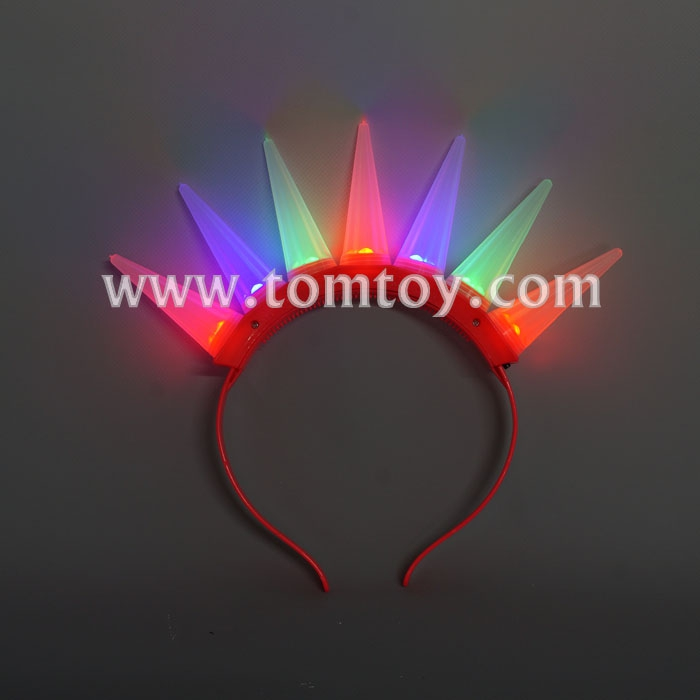 Wholesale Light up LED Mohawk headband