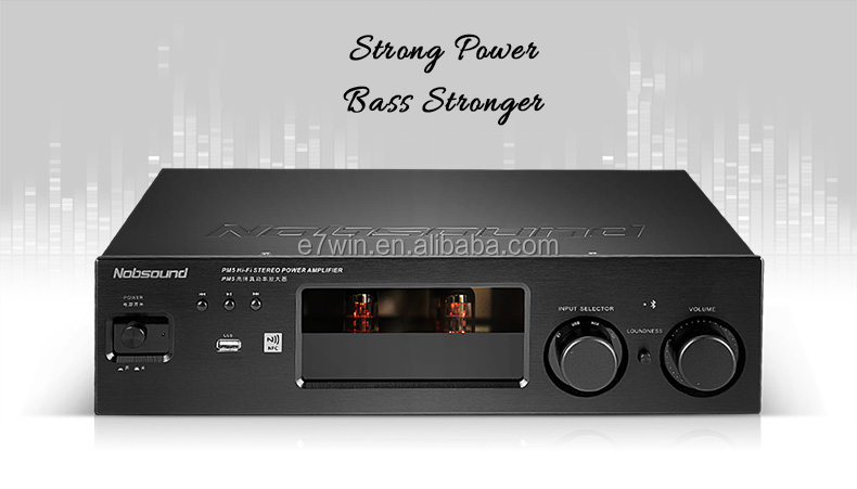 PM5 250W High End HiFi 2.0 Vaccum Tube stereo Amplifier NFC Home Audio Amplifier USB/FLAC/APE 80W+80W