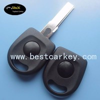 Without Logo transponder replacement key shell without light car key shell car keys