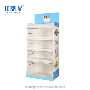 China Suppliers For Toys Intelligent Dancing Robot , Tiers , Corrugated Cardboard Floor Display\
