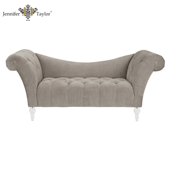 French Style Antique Bedroom Bed Footstool Chair Living Room Rolled Arm  Benches - Buy Antique Bed Chair,Upholstered Living Room Bench,French Style  ...
