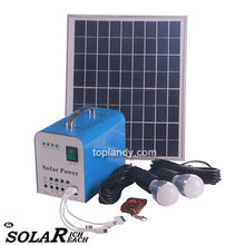 SINOTEK 10W solar panel with controller 12V 5V output portable solar power system