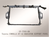 for Toyota Corolla(2007-2012) suyang auto metal radiator support auto spare parts