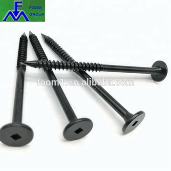 Carbon steel 1022A Square drive Wafer head Cement Board Screw