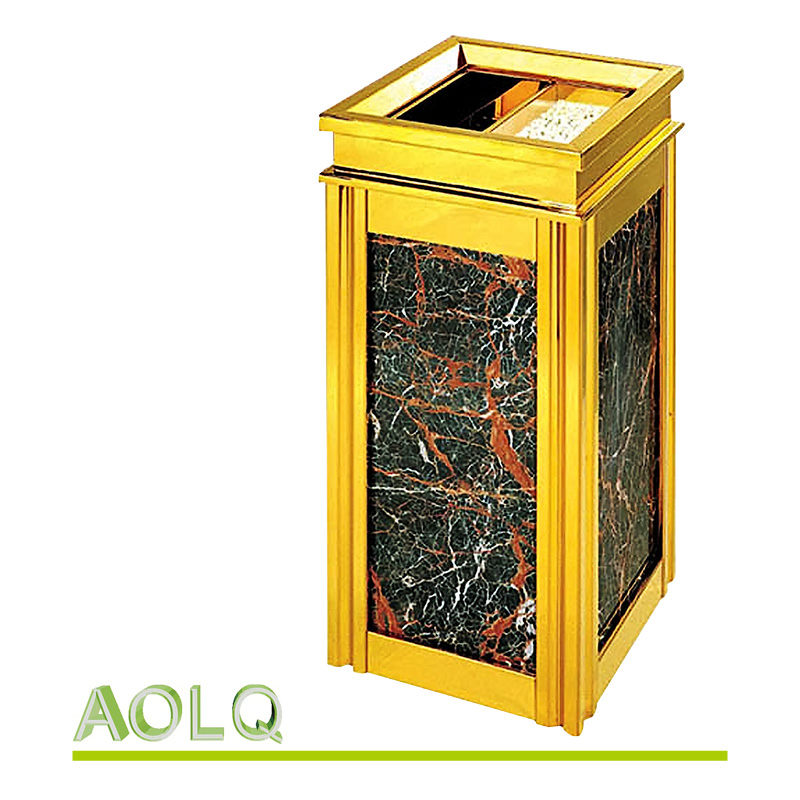 Hotel lobby ash barrel outdoor waste bin