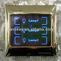 New design modern 45S turn off delay remote control LED indicator CE/ISO9001/CQC automatic light switch timer