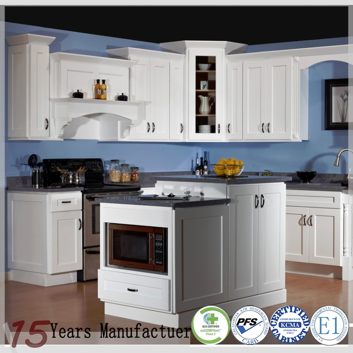 American Style White Shaker Kitchen Cabinets Craigslist Cabinet Product On Alibaba